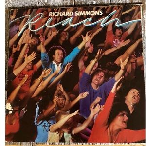 1982 Richard Simmons Album Cover
